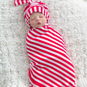 RED STRIPED BABA SZETT – Baby Meets